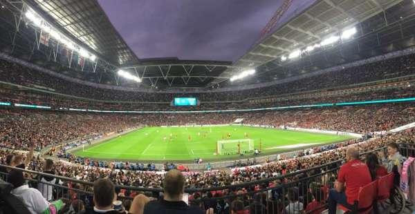 Wembley Stadium, secção: 112, fila: 31, lugar: 27
