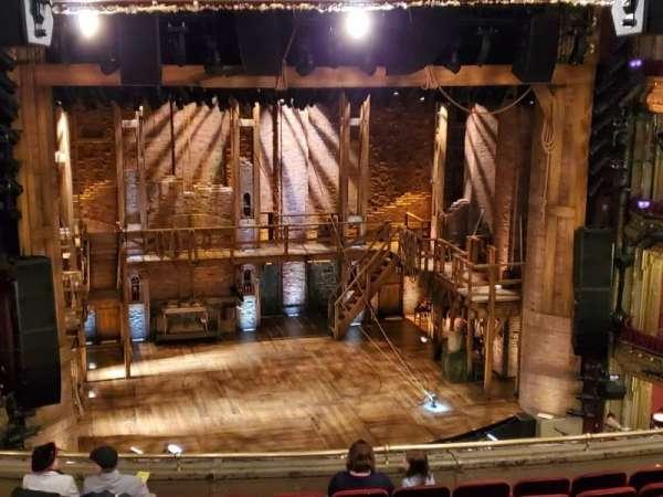 CIBC Theatre, secção: Mezzanine LC, fila: K, lugar: 317-321