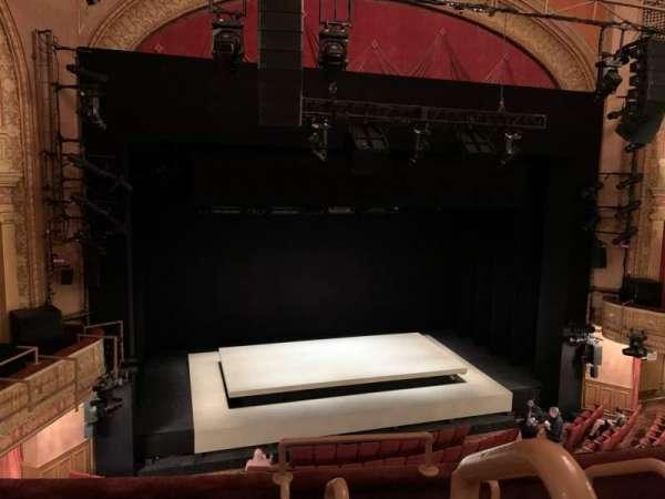 Ethel Barrymore Theatre, secção: Front Mezzanine L, fila: D, lugar: 1