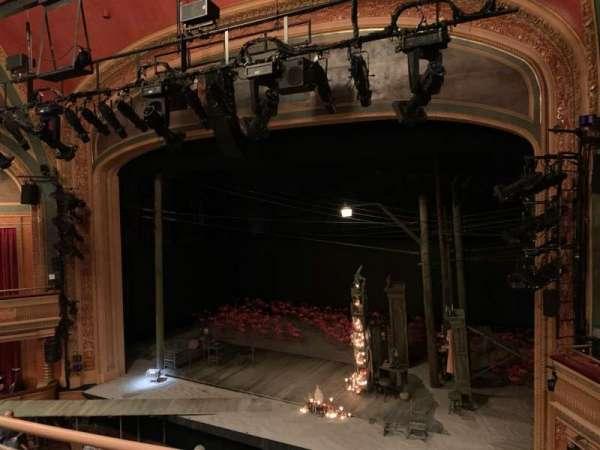 American Airlines Theatre, secção: Front Mezzanine, fila: B, lugar: 108