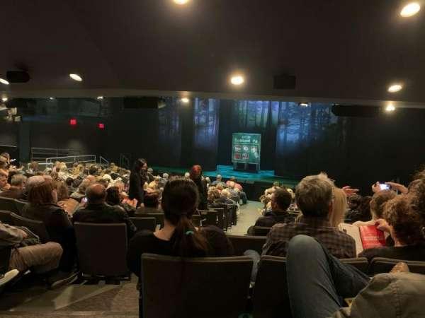 Laura Pels Theatre, secção: ORCH, fila: Q, lugar: 8