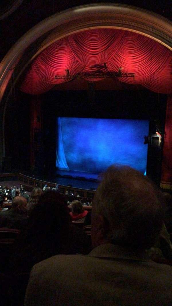 Dolby Theatre , secção: Mezzanine 1R, fila: H, lugar: 11
