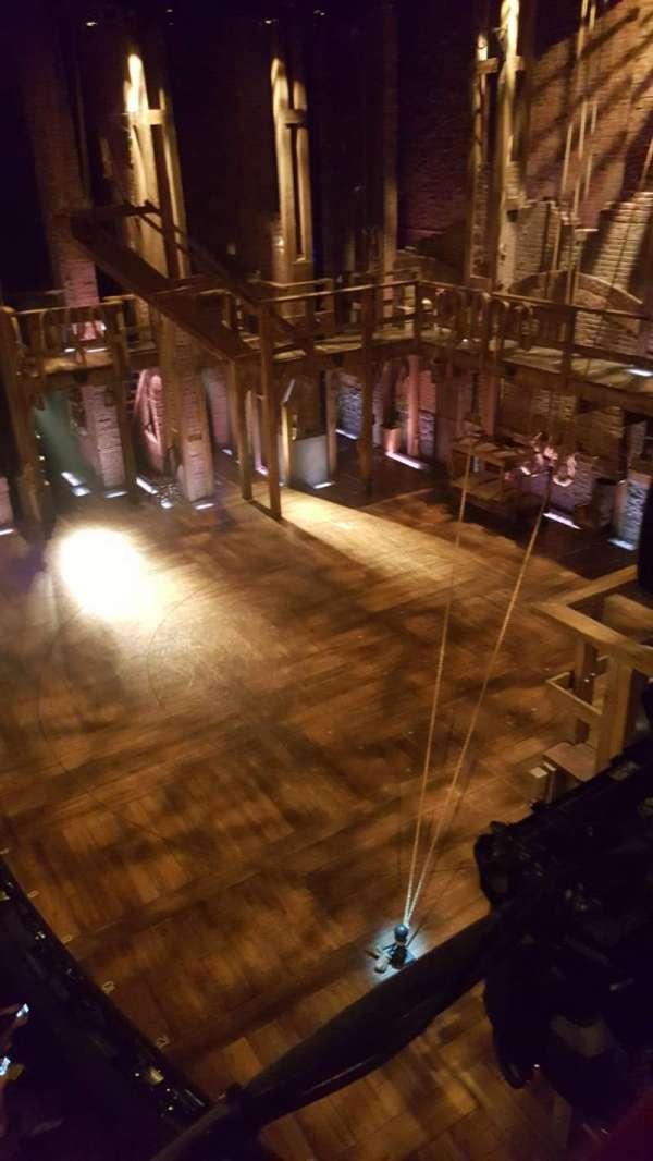 Richard Rodgers Theatre, secção: Box G, fila: 1, lugar: 1