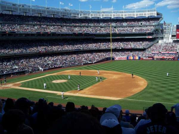 Yankee Stadium, secção: 214A, fila: 10, lugar: 3