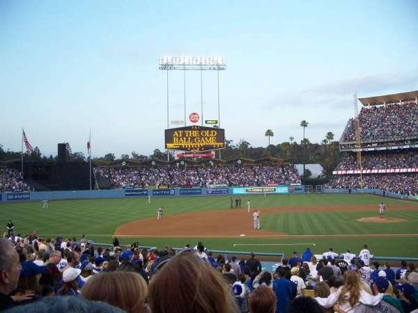 Dodger Stadium, secção: 19FD, fila: S, lugar: 6