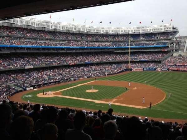 Yankee Stadium, secção: 214A, fila: 21, lugar: 10