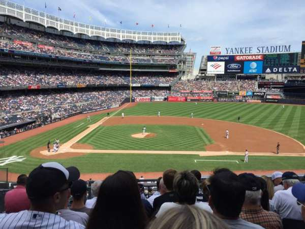 Yankee Stadium, secção: 216, fila: 7, lugar: 15