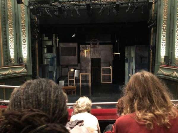 Piccadilly Theatre, secção: Royal Circle, fila: C, lugar: 13