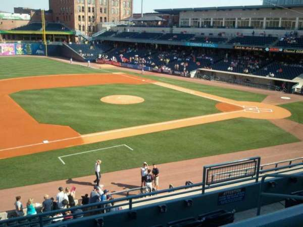 Fifth Third Field, secção: 203, fila: E, lugar: 3