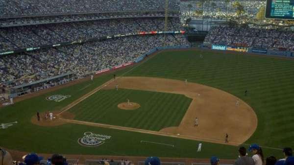 Dodger Stadium, secção: 22RS, fila: P, lugar: 17