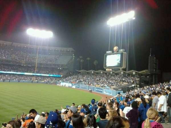 Dodger Stadium, secção: 304PL, fila: N, lugar: 2