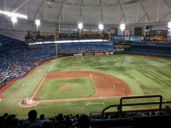 Tropicana Field, secção: 310