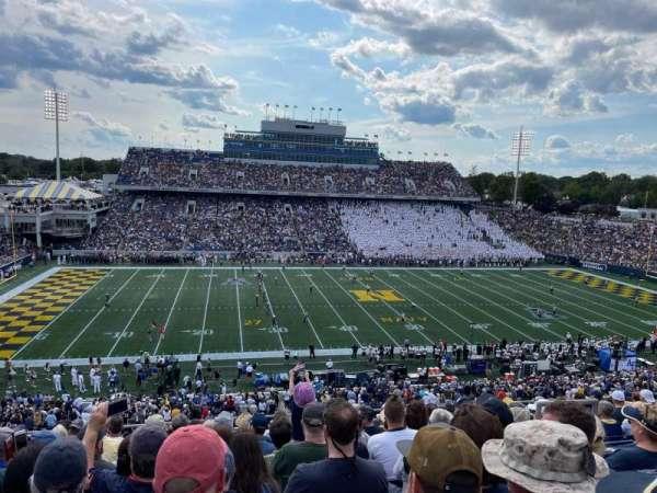 Navy-Marine Corps Memorial Stadium, secção: 130, fila: 13, lugar: 4