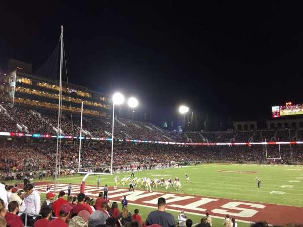Stanford Stadium, secção: 101, fila: N, lugar: 8