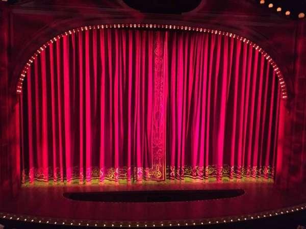 Shubert Theatre, secção: Mezzanine C, fila: A, lugar: 109
