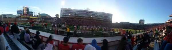 Maryland Stadium, secção: 4, fila: D, lugar: 18