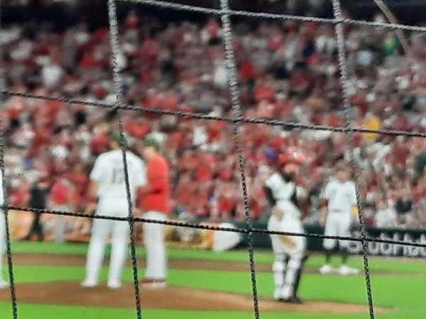 Great American Ball Park, secção: 115, fila: F, lugar: 9