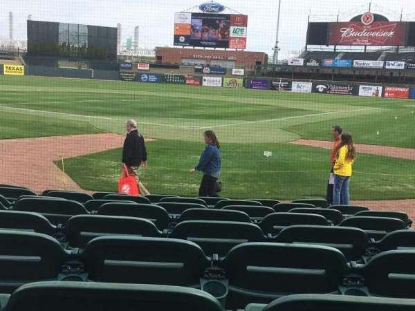 Louisville Slugger Field, secção: 116, fila: J, lugar: 5