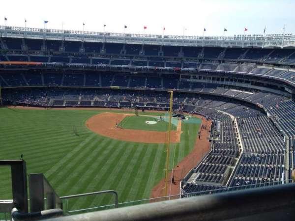 Yankee Stadium, secção: 433, fila: 7, lugar: 20