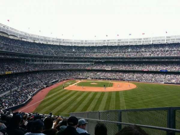 Yankee Stadium, secção: 205, fila: 17, lugar: 3