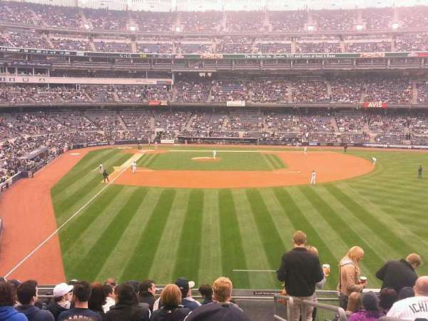 Yankee Stadium, secção: 206, fila: 11, lugar: 1