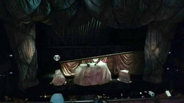 Majestic Theatre, secção: Front Mezzanine C, fila: D, lugar: 103