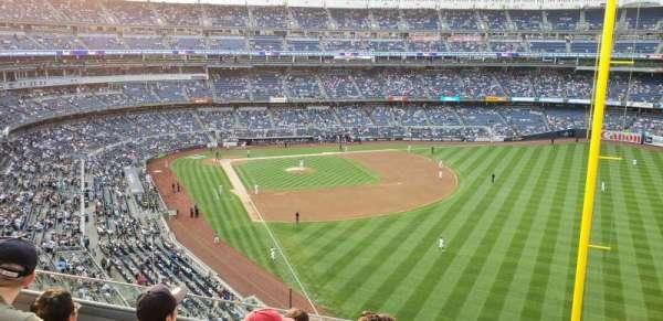 Yankee Stadium, secção: 308, fila: 5, lugar: 7
