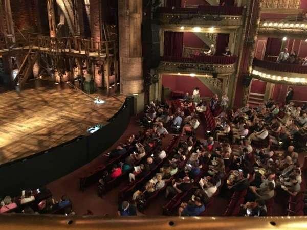 CIBC Theatre, secção: Mezzanine L, fila: A, lugar: 15