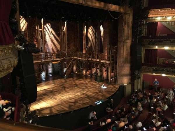 CIBC Theatre, secção: Mezzanine L, fila: A, lugar: 17