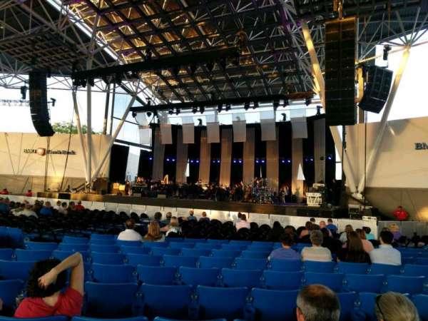 BMO Harris Pavilion, secção: 2, fila: U, lugar: 16
