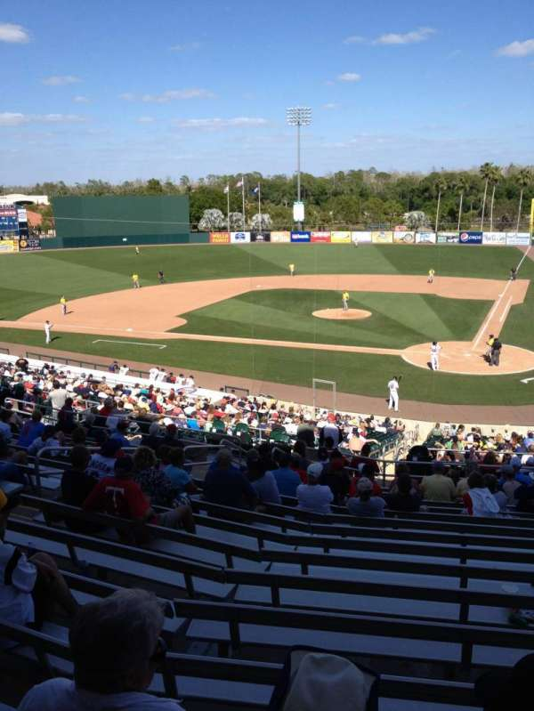Hammond Stadium at CenturyLink Sports Complex, secção: 212, fila: 16, lugar: 10