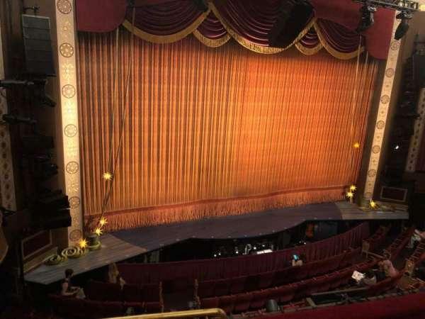 Imperial Theatre, secção: Rear Mezzanine 4, fila: A, lugar: 7