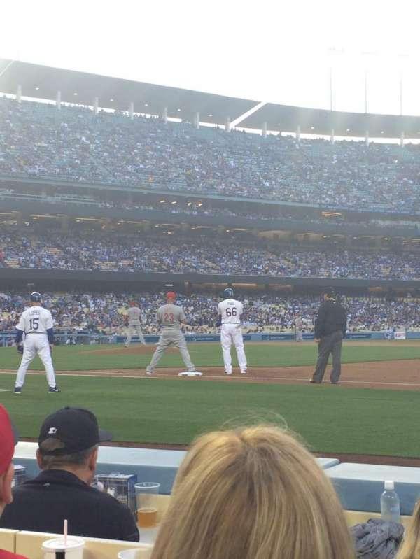 Dodger Stadium, secção: 26BL, fila: 3, lugar: 5