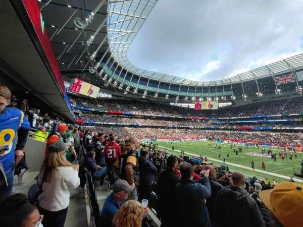 Tottenham Hotspur Stadium, secção: 103, fila: 24, lugar: 45