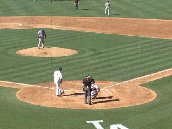 Dodger Stadium, secção: 105LG