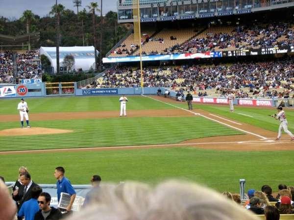 Dodger Stadium, secção: 15FD