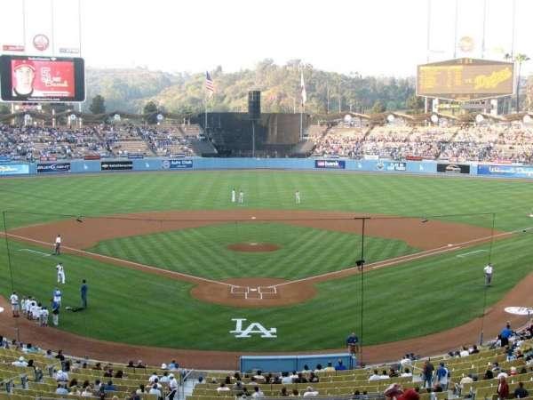 Dodger Stadium, secção: 102LG