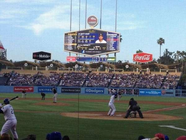 Dodger Stadium, secção: 5FD, fila: B, lugar: 5