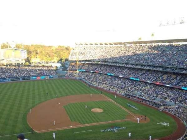 Dodger Stadium, secção: 19RS, fila: S, lugar: 21