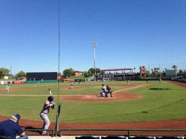 Scottsdale Stadium, secção: 105