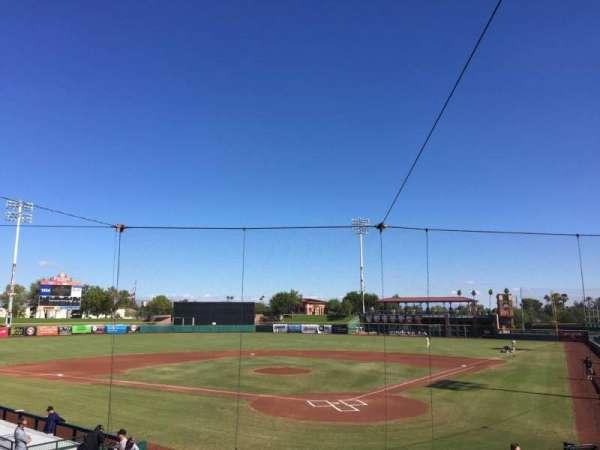 Scottsdale Stadium, secção: 201, fila: O, lugar: 7