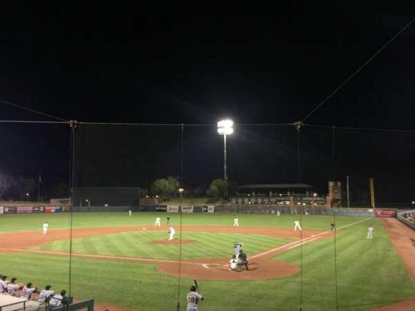 Scottsdale Stadium, secção: 201, fila: O, lugar: 11