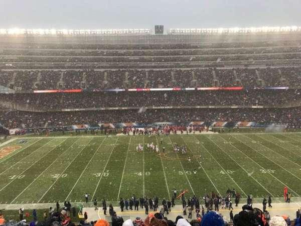Soldier Field, secção: 338, fila: 14, lugar: 4