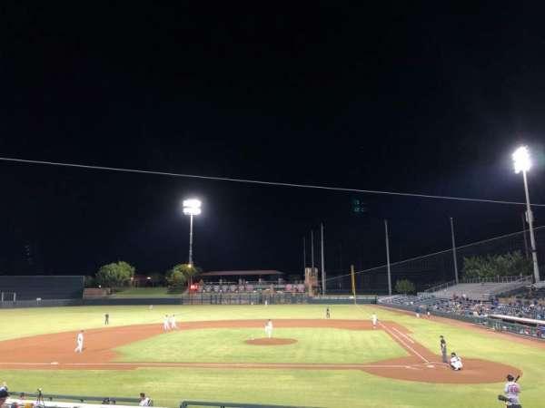 Scottsdale Stadium, secção: 309, fila: 2, lugar: 22