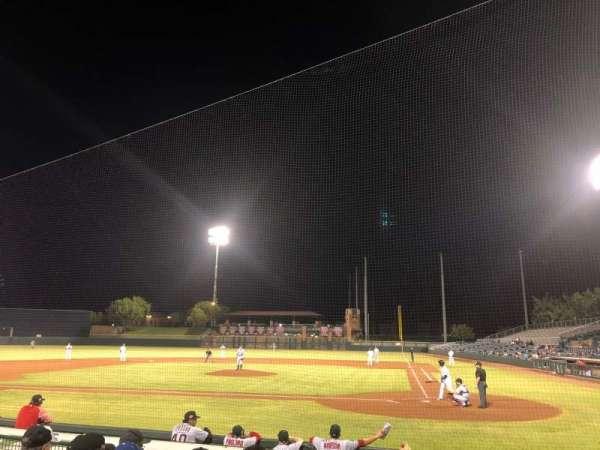Scottsdale Stadium, secção: 105, fila: H, lugar: 6