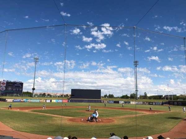 Peoria Sports Complex, secção: 100, lugar: 10