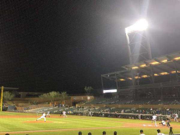 Salt River Fields, secção: 117, fila: 11, lugar: 13