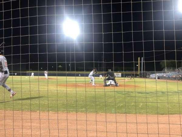 Peoria Sports Complex, secção: 103, fila: A, lugar: 1