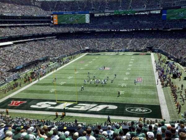 MetLife Stadium, secção: 249a, fila: wc, lugar: 7