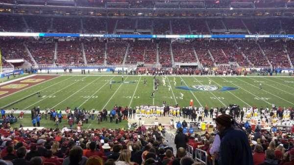 Levi's Stadium, secção: C140, fila: 35W, lugar: 1
